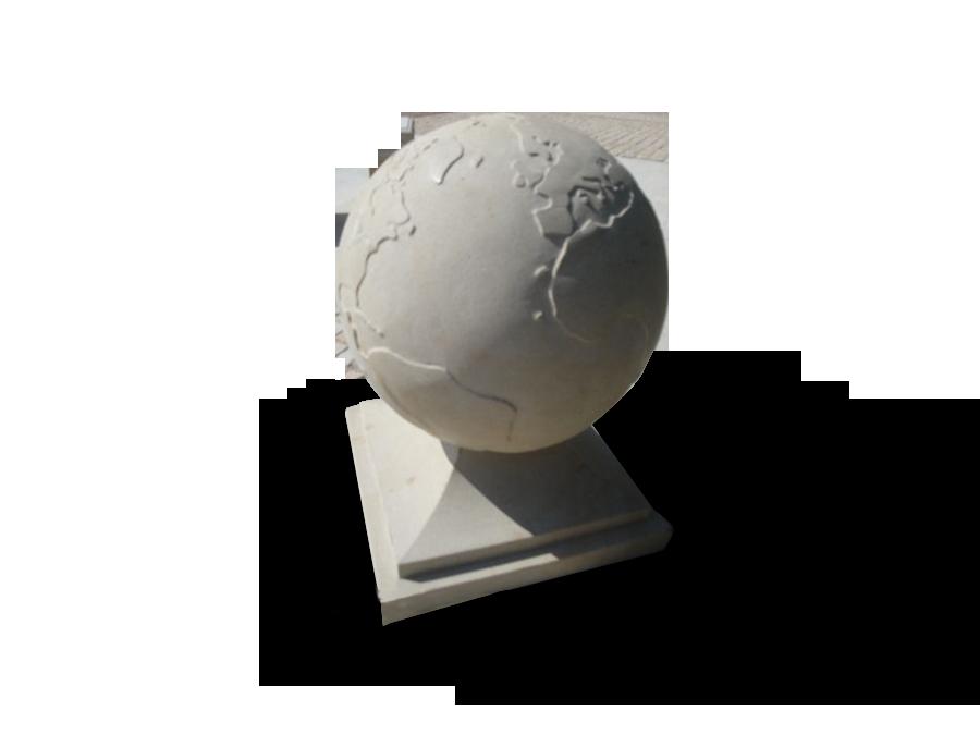 globus-rzezba