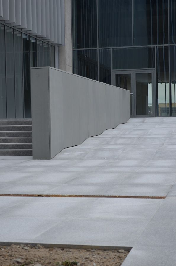 Sandstein platten grau