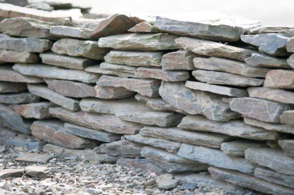 plattenmauerstein